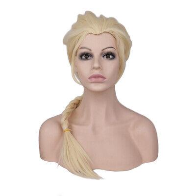 Frozen Queen Elsa & Princess Anna Long Braid Wig Cosplay Party Hair Wig](Princess Anna Wig)