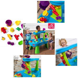 STEP2 RAIN SHOWERS WATER TABLE, delivery, new
