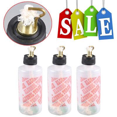 3pcs Dental Plastic Jewelry Alcohol Torch Needle Flame Burner Lamp Light 200ml