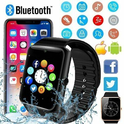 Men Kids GT08 Bluetooth Smart Watch For Android iOS iPhone Apple GSM SIM Women