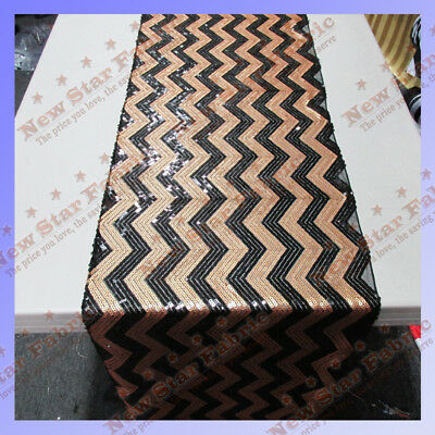 Table Runner Chevron Sequin 3 PCS  17