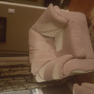 Like new couch love seat and chair