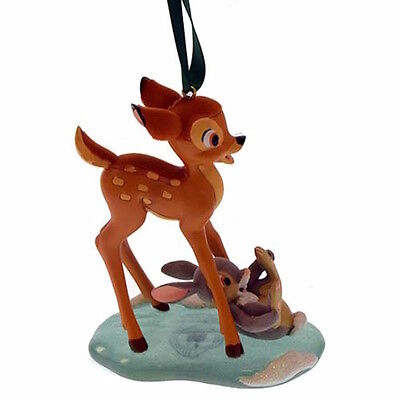 Disney Parks Christmas Ornament Bambi and Thumper New with Tags