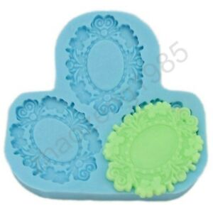 Pendant-Settings-Cameo-Cabochon-3-Cavity-Flexible-Silicone-Mold-Mould-for-Crafts