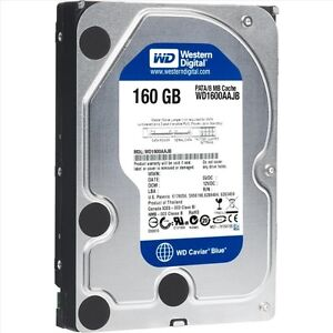 3 disques dur wd 160gb