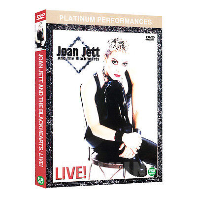 Joan Jett and The Blackhearts Live DVD (*New *Sealed *All Region)