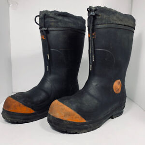 STC - WINTER - security boots - men size 9 or 42