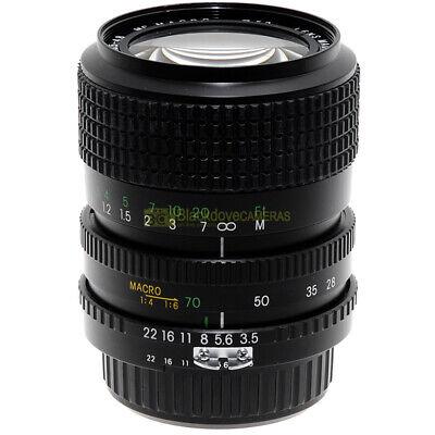 Haking 28-70 mm f3,5-4,5 MC Macro 1:4 obiettivo per fotocamere innesto Nikon AI