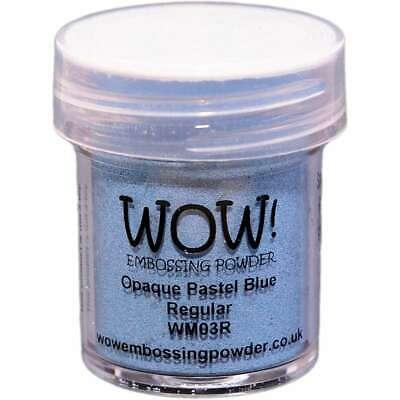 WOW! Embossing Powder 15ml Pastel Blue 5060210520779
