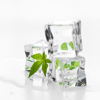 Acrylic Ice Cubes (Magic Fake Food Faux Acrylic Ice Cubes Crystal Clear 0.98
