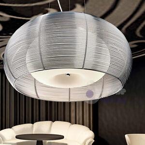 Lampada-lampadario-sospensione-acciaio-cromato-design-moderno-cucina ...