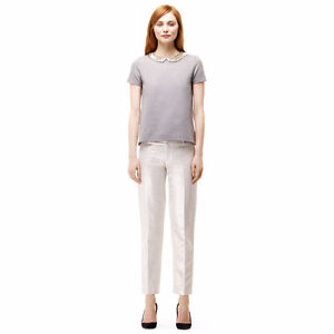 Club Monaco Silver Tailored Pants Size 4