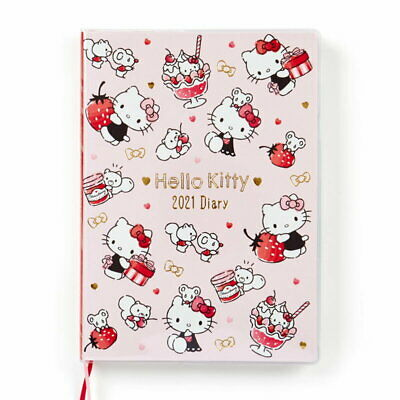 Hello Kitty B6 diary Schedule planner 2021 Sanrio Kawaii NEW