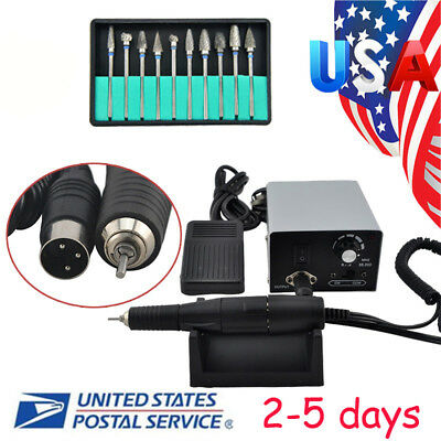 Dental Lab Marathon Handpiece 35k Rpm Electric Micromotor Polishing Drill 10