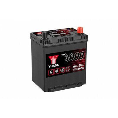 Autobatterie, Auto YBX3056 12V 36Ah 330A Yuasa Smf Battery 187x137x225mm A14