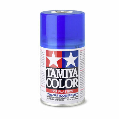 Tamiya 85072 Couleur TS-72 Bleu Transparent / Brillant 100ml Spray Neuf °