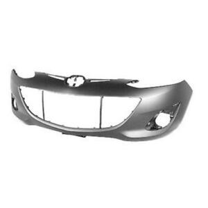 New Painted 2011 2012 2013 2014 Mazda Mazda2 Front Bumper & FREE shipping