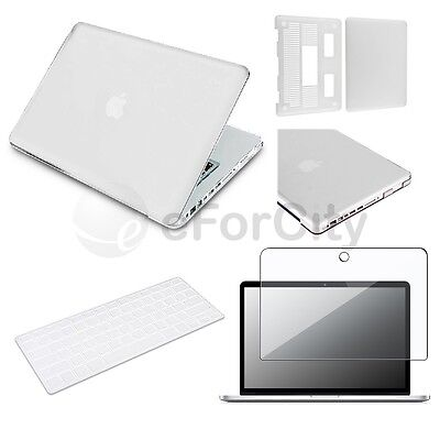 "3 in 1 Rubberized Clear Case for Macbook PRO 13"" + Keyboard Cover + LCD Screen on Rummage"