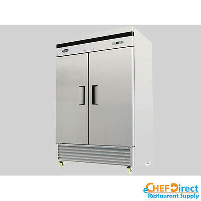 Atosa Mbf8507 B Series 52 Two Door Reach In Refrigerator