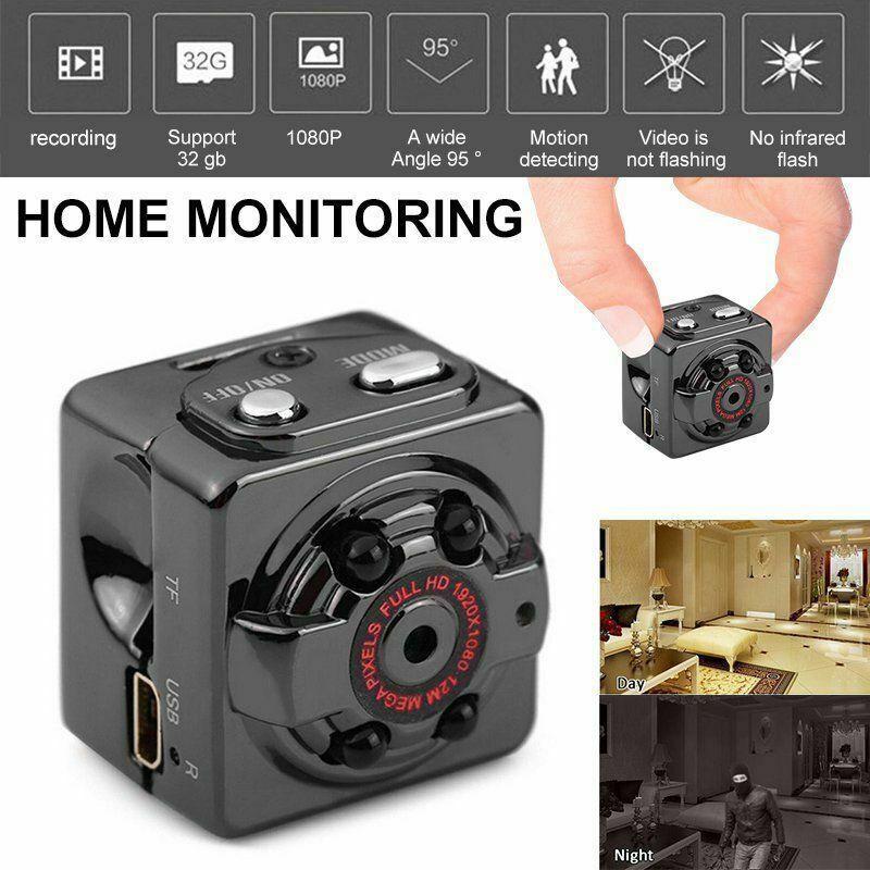 mini 1080p hd hidden spy camera sport