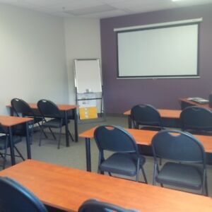 Why pay extra for training rooms when you can have it for free!