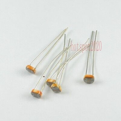 20x 5528cds Photo Light Dependent Sensitive Resistor Photoresistor Ldr Photocell