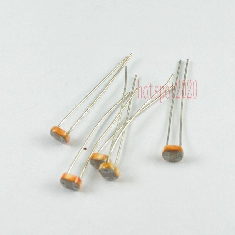 20x 5528CDS Photo Light Dependent Sensitive Resistor Photoresistor LDR Photocell