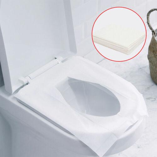 Abdeckung 50-80 Stück Hygieneauflagen Haus Einweg Toilettensitz Schutz Papier
