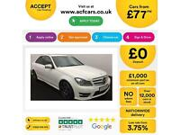 Mercedes-Benz C250 AMG Sport SALOON FROM £77 PER WEEK!
