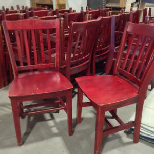 Restaurant Style Chairs (2 types)