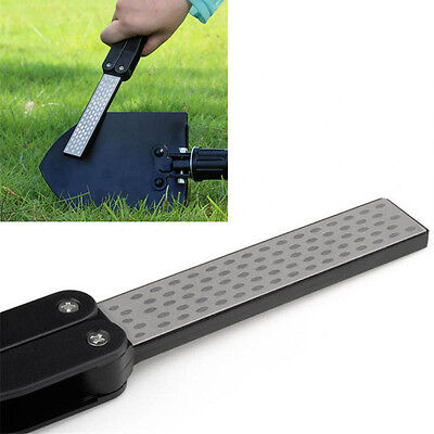 Proable Household Handle Silicon Carbide Fan-shaped Diamond Sharpener New US