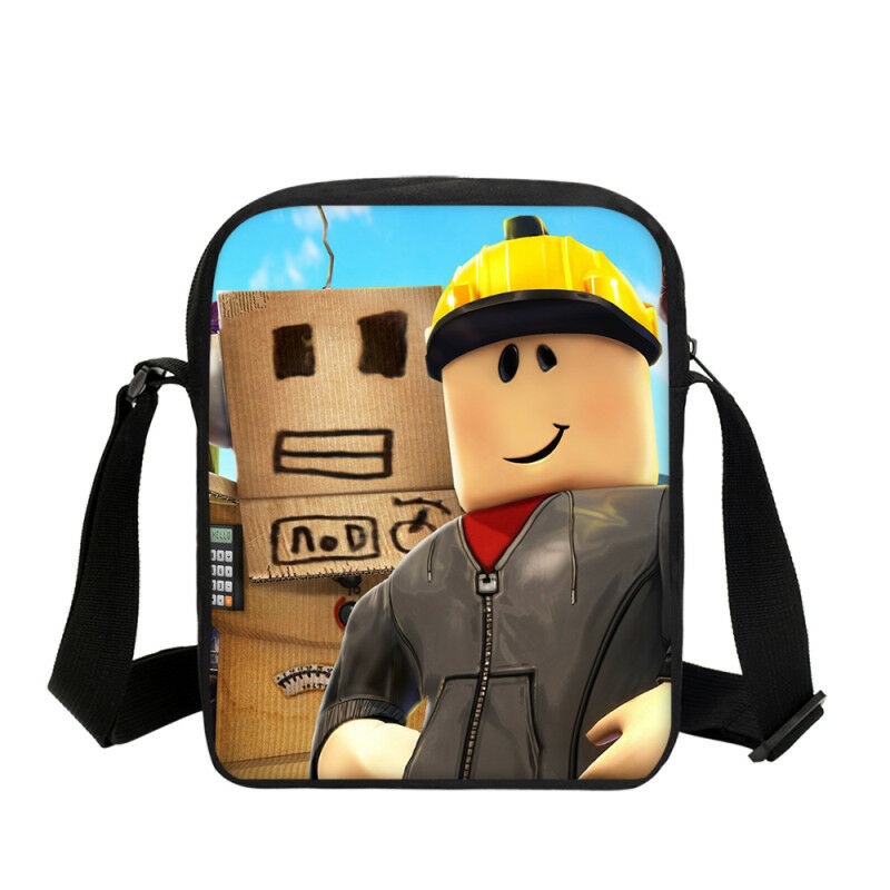 Roblox School Bag Messenger Shoulder Bag UK Seller