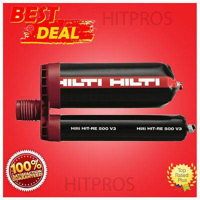Hilti Hit-re 500 330ml Injectable Mortar-epoxy Lk Fast Shipping