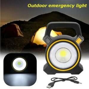 30W Solar Portable Rechargeable LED Flood Light Outdoor Garden Wo Silverwater Auburn Area Preview