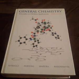 GENERAL CHEMISTRY: PRINCIPLES AND APPLICATIONS 10th Ed Kitchener / Waterloo Kitchener Area image 1