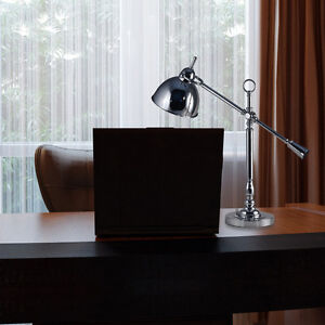 Swing-Arm Desk or Table Lamp