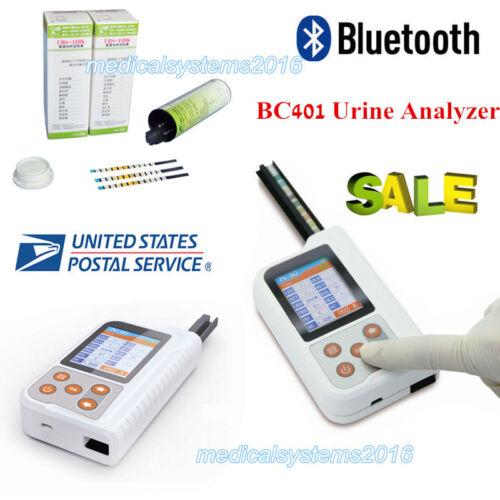 Portable Urine Analyzer Test Strips USB Bluetooth Function BC401 Bluetooth 2.4
