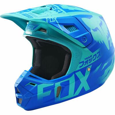 FOX V2 UNION LE MOTO HELMET SMALL AQUA TEAL 16184-246-S LIMITED EDITION NEW! MX Limited Edition Small Helmet