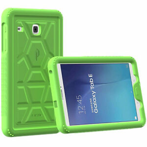 Heavy Duty Protection Silicone Case for Samsung Galaxy Tab E