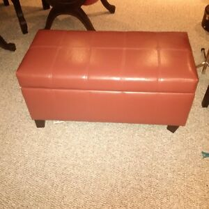 Red storage bench Kitchener / Waterloo Kitchener Area image 1