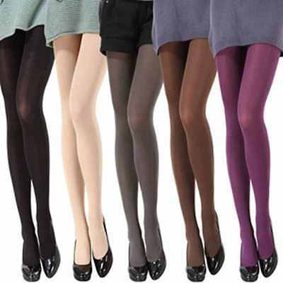 14 Color Sexy Women Opaque Footed Tights Pantyhose Hosiery Stockings Socks Cheap - Stockings Cheap