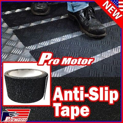 Slip Safety Tape - Anti Slip Non Skid High Traction Safety Grit Grip Tape Strips Sticker Adhesive z
