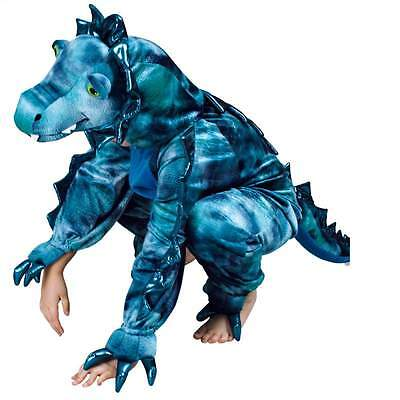 Krokodil Schnappi Drachen Kostüm Overall Plüsch Tier Dino Monster - Plüsch Drachen Kostüm