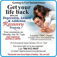 DEPRESSION, ANXIETY & ADDICTION RECOVERY PROGRAM - JAN 30, 2017