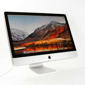 """27"""" Apple iMac All-in-One Core i5 8.0RAM/1TBHD MacOS 10.13"""
