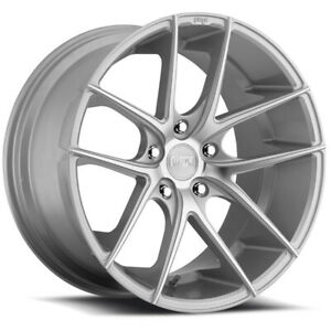 """19"""" Continental Extreme Tires on Silver Niche Wheels!"""