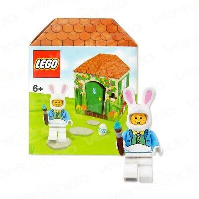 LEGO - Mann in Osterhasen Kostüm - Osterhütte - Ostern - Minifigur NEU - (Hase Kostüm Mann)