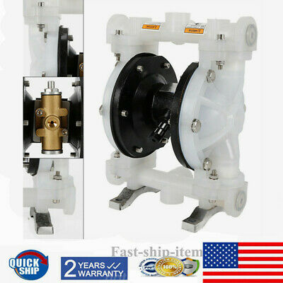 Air-operated Double Diaphragm Pump Petroleum Fluids Waste Oil Inlet Outlet