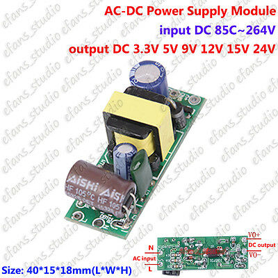 Ac110v 220v 230v To Dc 3.3v 5v 9v 12v 15v 24v Ac-dc Switching Power Supply Board