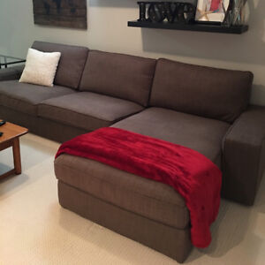 Large Ikea Sofa with Chaise
